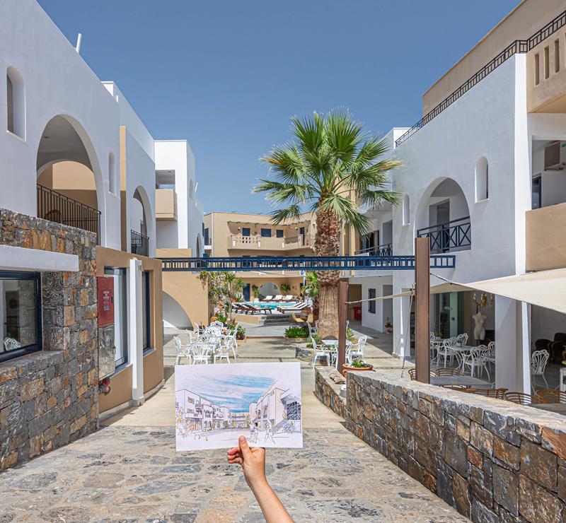 Kreta Karte Stalis.Residence Villas In Stalis Crete Hotel Stalis Villas